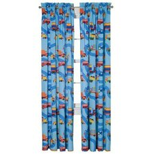 Boys Like Trucks Window Treatment Collection