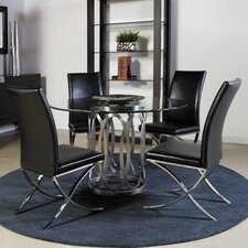 Alchemy 5 Piece Round Dining Set