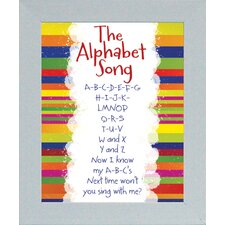 The Alphabet Song Print Art
