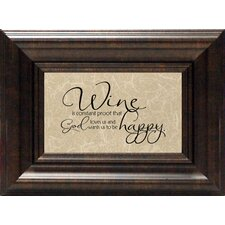 Wine Is Constant Proof? Print Art