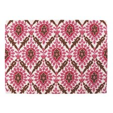Back Bay Pink and Brown Hook Rug