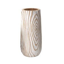 Washed Wood Grain Vase