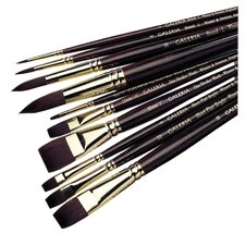 Galeria Acrylic Long Handle Round  Brush