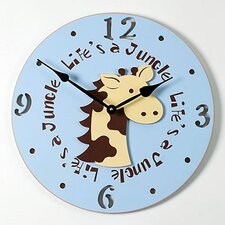 Giraffe Kid Clock