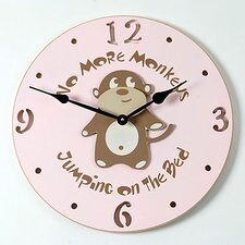 Monkey Kid Clock