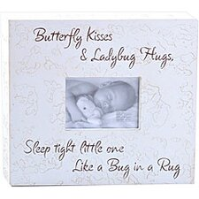 Butterfly Kisses & Ladybug Hugs... Child Frame