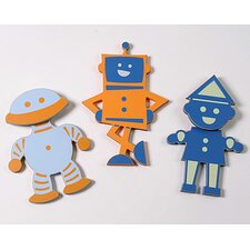 Robot Peg (Set of 3)
