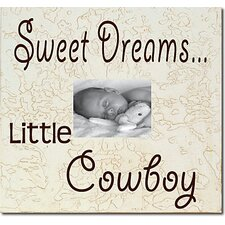 Sweet Dreams...Little Cowboy Child Frame