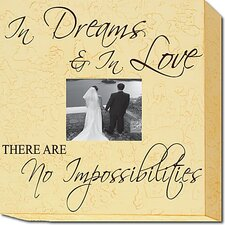 In Dreams & In Love There Are No Impossibilities Memory Box