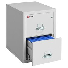"25"" D Two-Drawer Vertical Letter File"