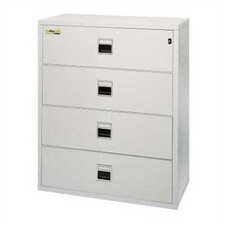 "37 1/2"" W Four-Drawer Lateral Signature File"