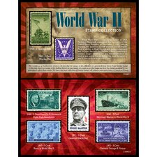World War II Stamp Collection