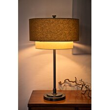 Double Shade 2 Light Table Lamp