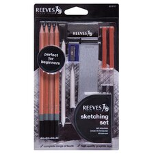 13 Piece Artist Sketching Set