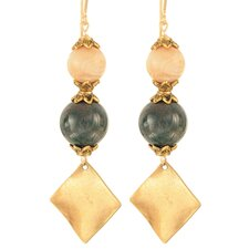 Cosmos Serpentine 14 Kt Goldfilled Earrings