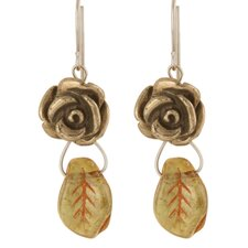 Lomasi Pyrite Sterling Silver Earrings