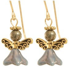 Remliel Angel 14 Kt Goldfilled Earrings