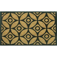 Circles and Stars Doormat