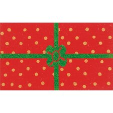 Christmas Package Doormat