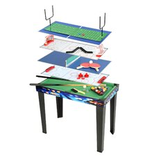 Kid Challenge 6 in 1 Table Game Center