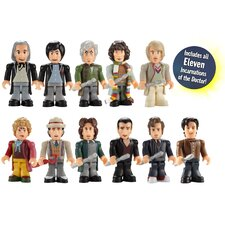 Doctor Who Doctor Action Figure 11 Piece Set