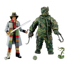 Doctor Who Seeds of Dooms Action Figure 2 Piece Set