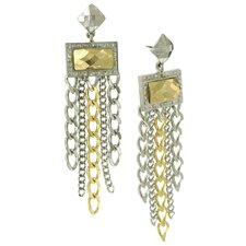 Fringe Chandelier Drop Earrings