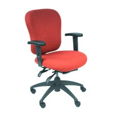 Mid-Back Eclipse Executive Chair with Arms