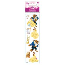 Disney 3D Slim Stix Beauty and the Beast Sticker