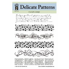 Delicate Patterns Clear Stamp Set
