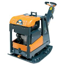"Reversible Plate Compactor with Electric Start and 28"" W x 37"" D Plate"