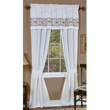 Landon Rod Pocket Curtain Panel Pair