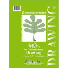 Premium Heavy Drawing Paper Pad