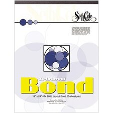 Layout Bond Paper Pad