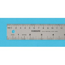Aluminum English Metric Ruler