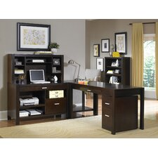 Carlton L-Shape Desk Office Suite