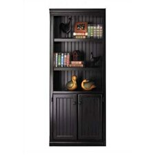 "Southampton Onyx 73"" H Lower Door Bookcase"