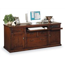 "Huntington Club 69"" W Storage Credenza with Hutch"