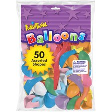 Funsational Balloon (Set of 50)