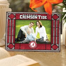 NCAA Art Glass Horizontal Frame