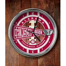 NCAA Chrome Clock