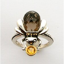 Sterling Silver Critter Bee Ring