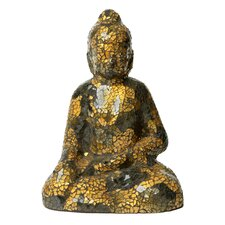 Mosaic Small Sitting Buddha Sculpture