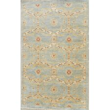 Contemporary Blue Oriental Rug