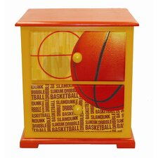 Basketball Slam Dunk Nightstand