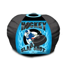 Hockey Slap Shot Bean Bag Chair