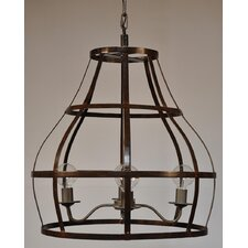 Birdcage 4 Light Foyer Pendant