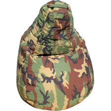 Tear Drop Camouflage Bean Bag Lounger