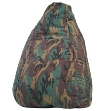 Dorm Camo Bean Bag Chair