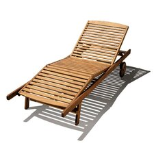Riviera Lounger with Wheel